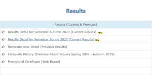 Allama Iqbal Open University Results 1