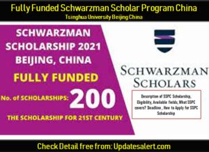 Schwarzman Scholar Program China 2021-22 11