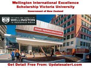Wellington International Excellence Scholarship 2021
