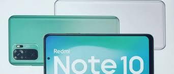 Xiaomi Redmi Note 10 Storage capacity
